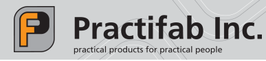 PRACTIFAB INC. practical products for practical people
