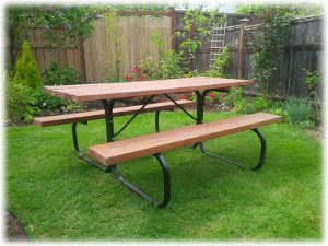 Beautiful Picnic Table