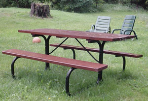 Amazon.com: Picnic Table Kit: Sports  Outdoors
